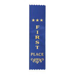 Award Ribbon Various colours and Text