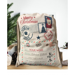 Personalised Santa Sack - Toy Lane 22
