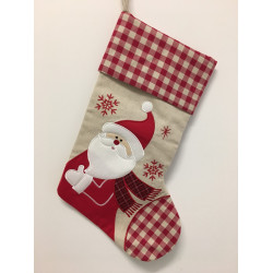 Personalised Christmas Stocking - Santa Design A