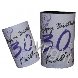 50 x Personalised stubby holder can coolers - FREE POST