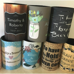 Personalised stubby holder coolers - 100's designs to choose from