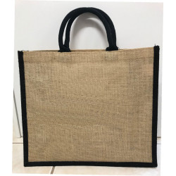 Hessain Jute Tote Bag - HJTB10 Will you be my Flower Girl