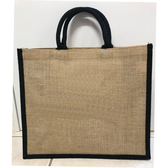 Hessain Jute Tote Bag - HJTB09 Will you be my Matron of Honour