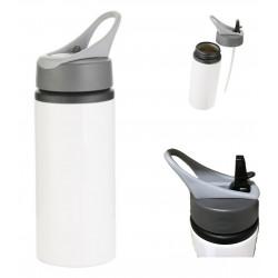 Personalised NAME Aluminum Water Bottle W/ Handle (White) 22oz/650ml