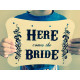 Personalised Bride Announcement Decoration Sign Happily WB4